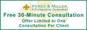 Free 30-Minute Consultation - Offer Limited to One Consultation Per Client